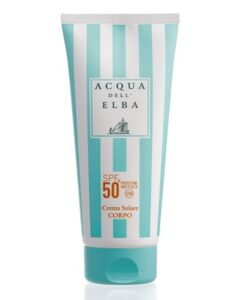 Crema Solare Corpo - SpF50+ - 200ml - Acqua dell'Elba