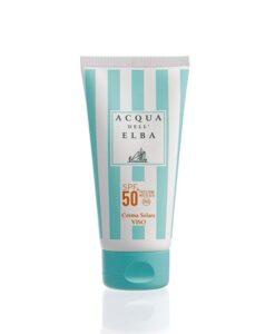 Crema Solare Viso - SpF50+ - 75ml - Acqua dell'Elba