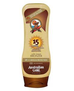 Australian Gold - Lozioni con Kona Coffee - SpF 15 - 237ml