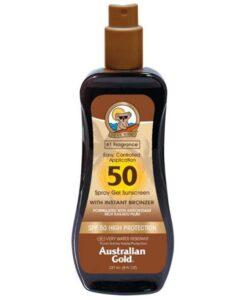 Australian Gold - Spray Gels con effetto bronze SPF 50 - 237ml